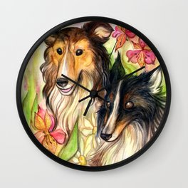 summer solstice Wall Clock