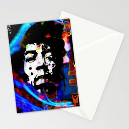 GUITAR MAN:  MUSIC DOESN'T LIE Stationery Cards
