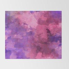 pink tourmaline Throw Blanket