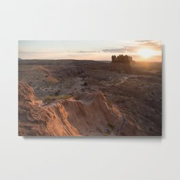A Utah Sunrise Metal Print