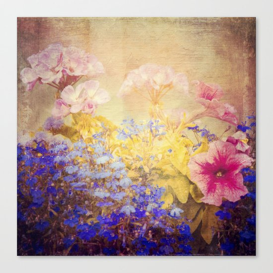 Small Garden Canvas Print
