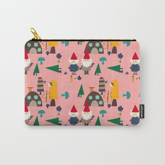 gnome pink Carry-All Pouch