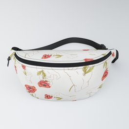 Poppy Gilded Hands Series Light Fanny Pack