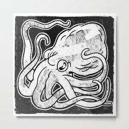 Octopus Print Metal Print