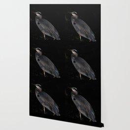 Heron at night Wallpaper