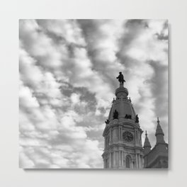 Philadelphia City Hall Metal Print