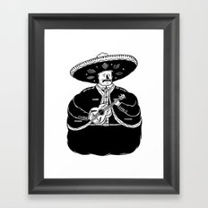 The Fat Mariachi Framed Art Print