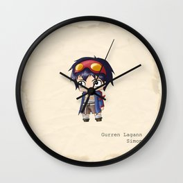 Chibi Simon Wall Clock