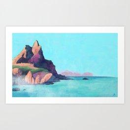 Madeira island Art Print