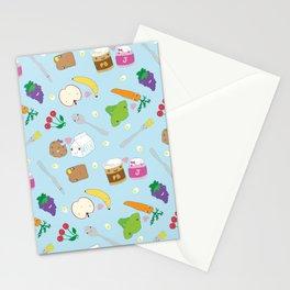 Kawaii Happy Snacks Toss Stationery Cards