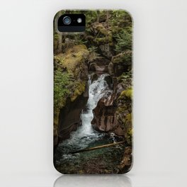 Avalanche Gorge - Glacier NP iPhone Case