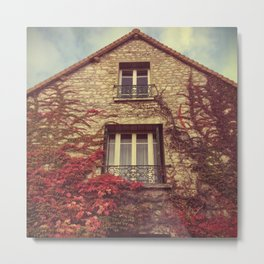 Ivy House - Giverny, France Metal Print