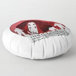 Money Heist - Origami Paper Art Floor Pillow