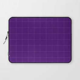 Carre violet Laptop Sleeve