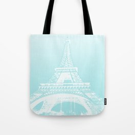 Eiffel tower by dots Tote Bag