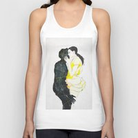 kiss Tank Tops featuring KISS by SEVENTRAPS