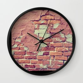 Old Bricks ttv photo Wall Clock