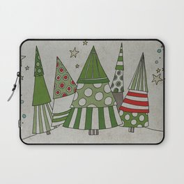 Day in the Winter Forest Laptop Sleeve