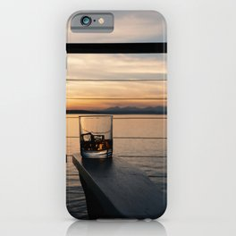 Wine and Whiskey Eve iPhone Case