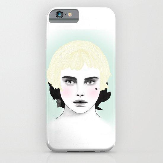 Fashion Illustration - Chanel Yellow  iPhone & iPod Case