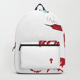 Boo Boo Crew scary nurse Halloween Ghost Nurse Backpack