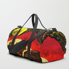 Storm on Red Mountain Duffle Bag