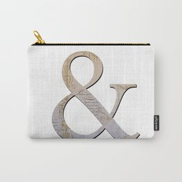 French Ampersand Carry-All Pouch