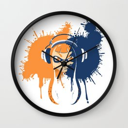 Splatoon: Squid Girl Splash Jam Wall Clock
