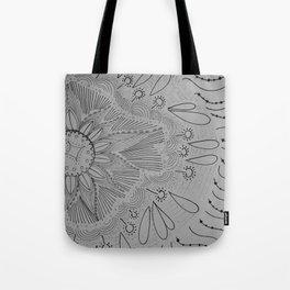 Circle of Pattern Tote Bag