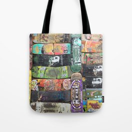 Boards were made to  be broken Tote Bag