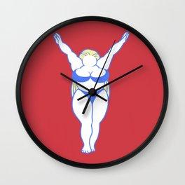 ANYWAY I LOVE MY BODY Wall Clock