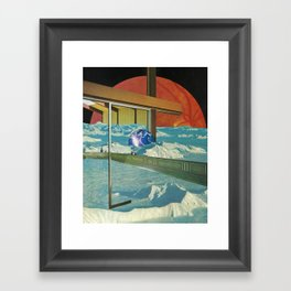 Angular Framed Art Print