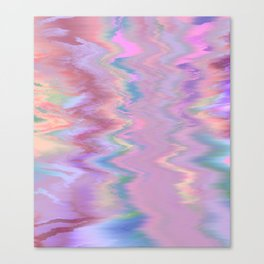 Abstract Sound Canvas Print