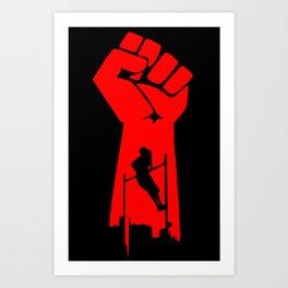 Muscle Up Unity Art Print