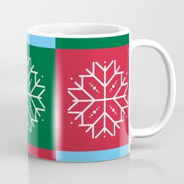 Snowflake 3x3 Coffee Mug