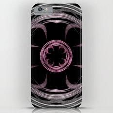 Mandala, silver, purple and pink Slim Case iPhone 6s Plus