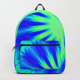 Aqua Starburst Backpack
