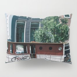 A Day in Amsterdam Pillow Sham