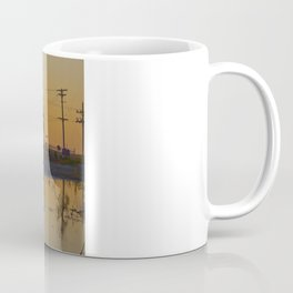 Powerline Sunset Coffee Mug