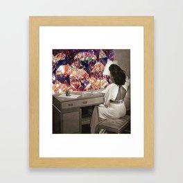 Self love Framed Art Print
