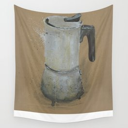 Moka Pot -  These are the things I use to define myself Wall Tapestry