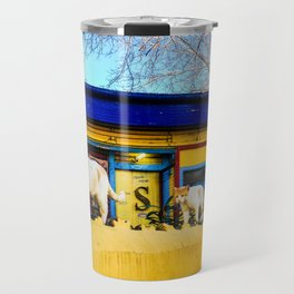 Cats in Buenos Aires #2 Travel Mug