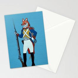 Colonial Fox Stationery Cards