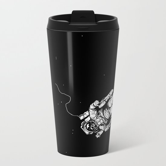 Lost in Eternity Metal Travel Mug
