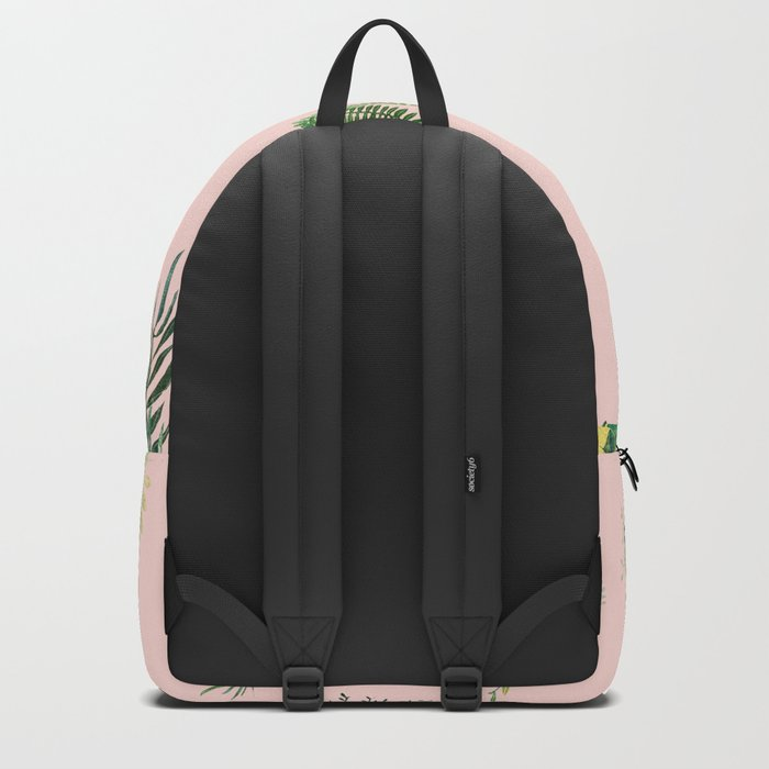 pink may garden!! Backpack