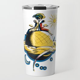 Sitting on Top of the World Travel Mug