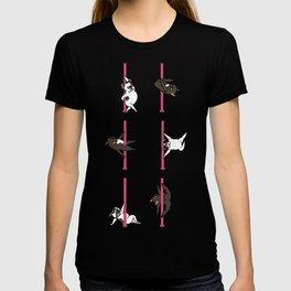 French Bulldog Pole Dancing Club T-shirt