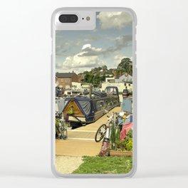 Diglis Basin Clear iPhone Case