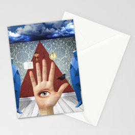 Talk To The Hand Stationery Cards