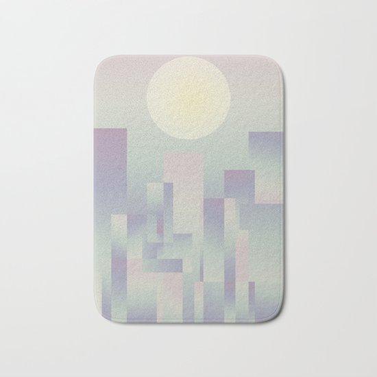 Opalescent dawning Bath Mat